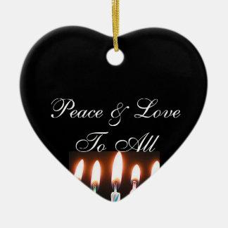 平和及び愛 セラミックオーナメント