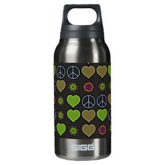 平和及び愛 断熱ウォーターボトル