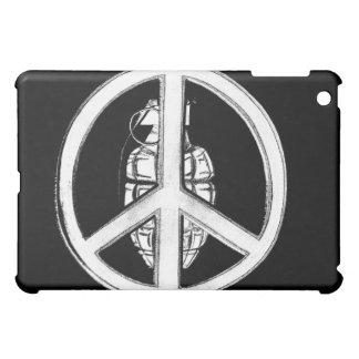 平和及び戦争(白い) iPad MINIカバー