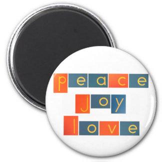 平和喜び愛紙やすりの手紙 マグネット