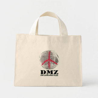 平和地球戦争無し戦い無し暴力愛無し ミニトートバッグ