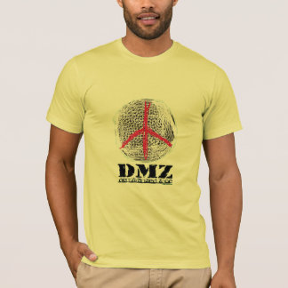 平和地球戦争無し戦い無し暴力愛無し Tシャツ