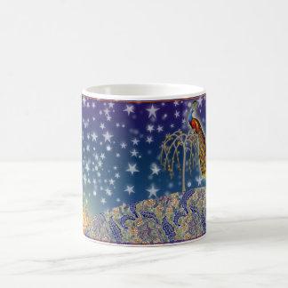 平和孔雀 コーヒーマグカップ