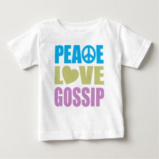 平和愛うわさ話 ベビーTシャツ