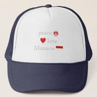 平和愛およびモナコ キャップ