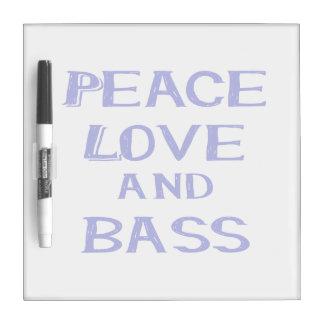 平和愛および低音のbernice blue.png ホワイトボード