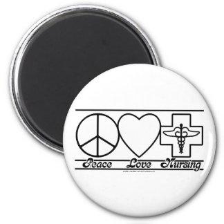 平和愛および看護 マグネット