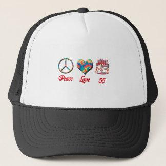 平和愛および55 キャップ