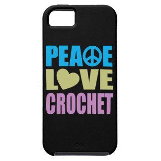 平和愛かぎ針編み iPhone 5 COVER