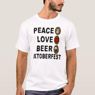平和愛くまのオクトーバーフェスト Tシャツ