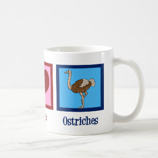 平和愛だちょう コーヒーマグカップ