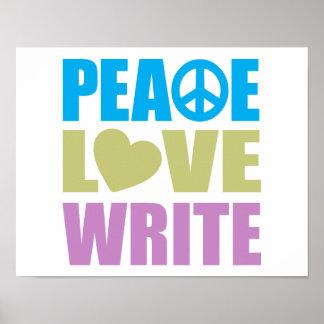 平和愛は書きます ポスター