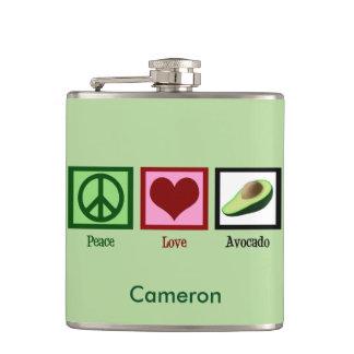 平和愛アボカドの習慣の緑 フラスク