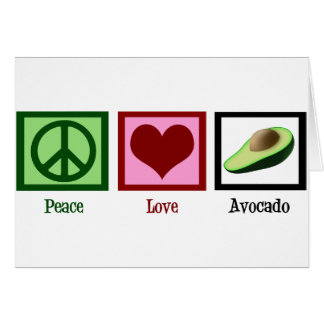平和愛アボカド カード