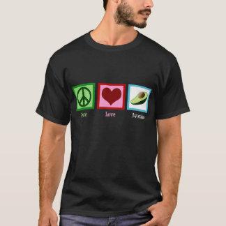 平和愛アボカド Tシャツ