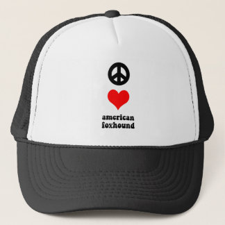 平和愛アメリカfoxhound キャップ