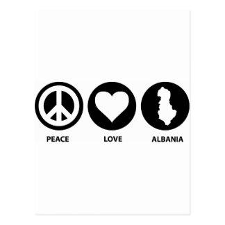平和愛アルバニア ポストカード