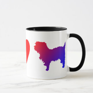 平和愛アーフェンピンシャーのマグ マグカップ
