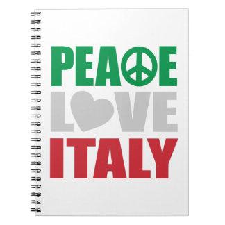 平和愛イタリア ノートブック