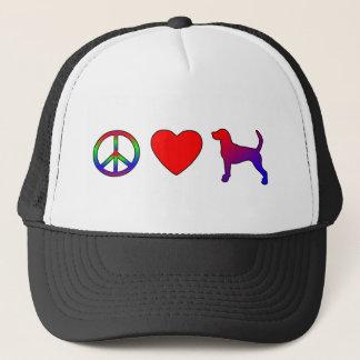 平和愛イングリッシュ・フォックスハウンド キャップ