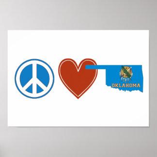 平和愛オクラホマ ポスター