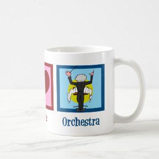 平和愛オーケストラ コーヒーマグカップ