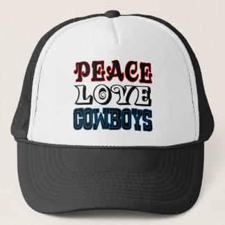 平和愛カウボーイ キャップ