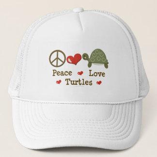 平和愛カメの帽子 キャップ