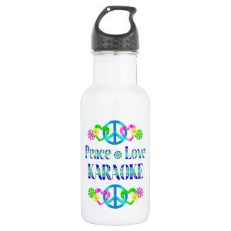 平和愛カラオケ ウォーターボトル