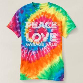 平和愛ガレージセールの絞り染めのワイシャツ Tシャツ
