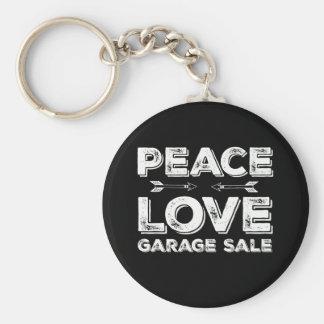 平和愛ガレージセールKeychain キーホルダー