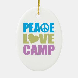 平和愛キャンプ セラミックオーナメント