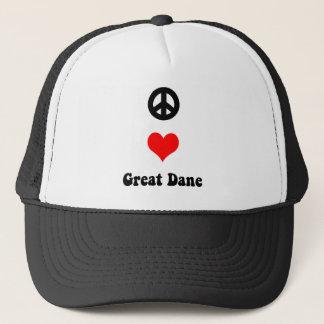 平和愛グレートデーン キャップ