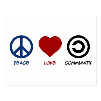 平和愛コミュニティ ポストカード
