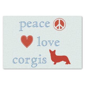 平和愛コーギー 薄葉紙