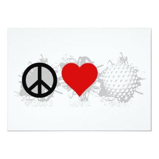 平和愛ゴルフ紋章 カード