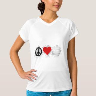 平和愛ゴルフ紋章 Tシャツ