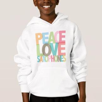 平和愛サクソフォーンのティー及びギフト