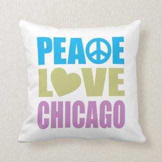 平和愛シカゴ クッション