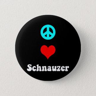 平和愛シュナウツァー 缶バッジ