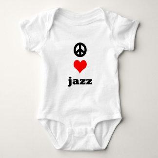 平和愛ジャズ ベビーボディスーツ