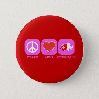 平和愛スイス連邦共和国 缶バッジ
