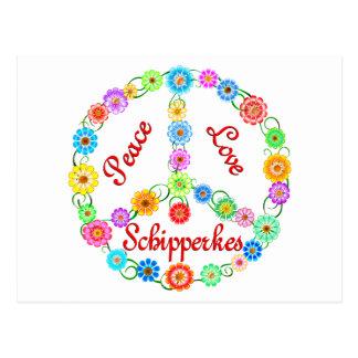 平和愛スキッパーキ ポストカード