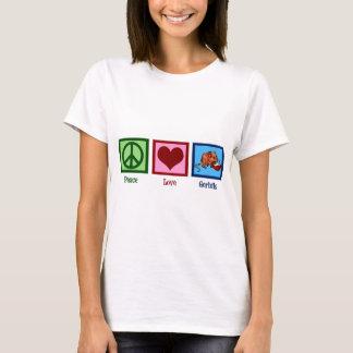平和愛スナネズミ Tシャツ