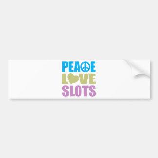 平和愛スロット バンパーステッカー