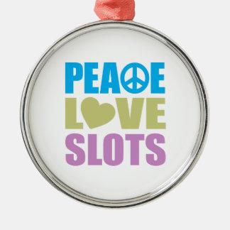 平和愛スロット メタルオーナメント