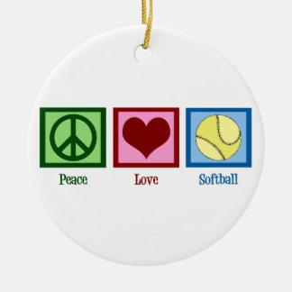 平和愛ソフトボール セラミックオーナメント