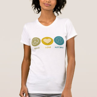 平和愛ソフトボール Tシャツ
