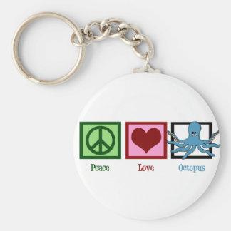 平和愛タコ キーホルダー