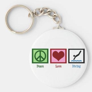平和愛ダイビング キーホルダー